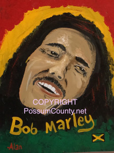 BOB MARLEY Portrait  ••• by ALAN the Portrait Guy - WAS $60 - NOW $25