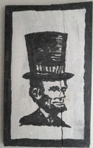 ABE LINCOLN PORTRAIT by George Borum