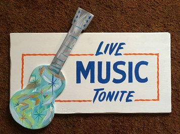 LIVE MUSIC TONIGHT w/ GUITAR by George Borum