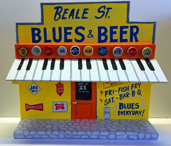 BEALE ST BLUES & BEER - JUKE JOINT by George Borum