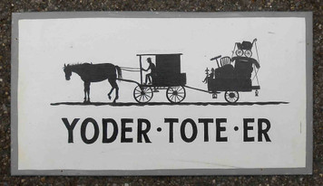 Yoder Toter - Amish Moving Van by George Borum