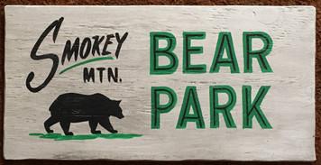 SMOKEY MOUNTAIN- BEAR PARK - TN - NC