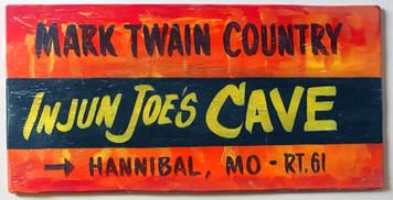 INJUN JOE CAVE - HANNIBAL MO - MARK TWAIN