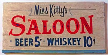 MISS KITTY'S SALOON - DODGE CITY KS - GUNSMOKE