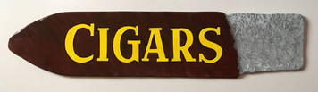 WOOD CUT-OUT CIGAR - Old Time Sign -