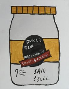 SAM EZELL'S - DUKE'S MAYO PAINTING (#2) - Stretched Canvas