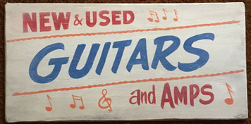 NEW & USED - GUITARS & AMPS