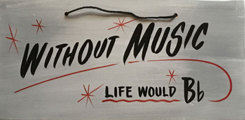 WITHOUT MUSIC - Life Would Bb