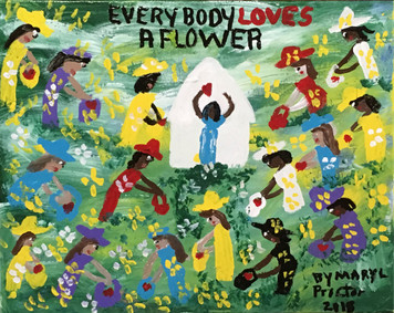 EVERYBODY LOVES A FLOWER by Mary Proctor