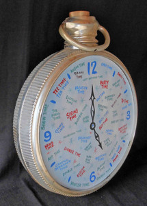 George's strange version of a Time Clock
