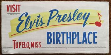 ELVIS PRESLEY BIRTHPLACE - Tupelo MS
