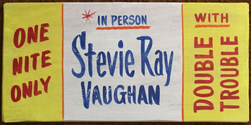STEVIE RAY VAUGHAN Concert Poster