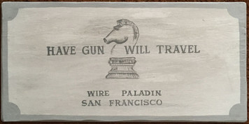HAVE GUN - WILL TRAVEL - PALADIN