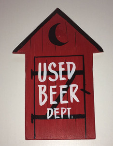 USED BEER DEPT - RED OUTHOUSE