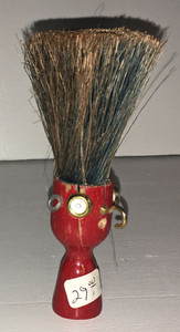 RED - SHAVING BRUSH MAN by Steve Meadows