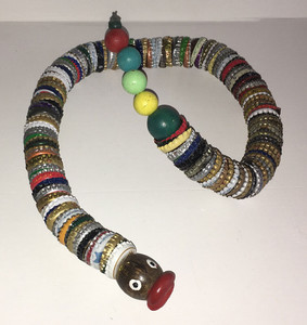 BOTTLE CAP SNAKE by Steve Meadows