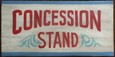 Concession Stand Mini Party Signs (4) |Concession Stand Signs
