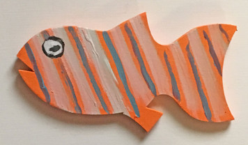 COLORFUL FISH Cut-out #11 - by Steve Knight - WAS $20 -NOW $10