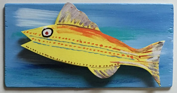 MOUNTED FISH #4 by Steve Knight - WAS $40 - NOW $20