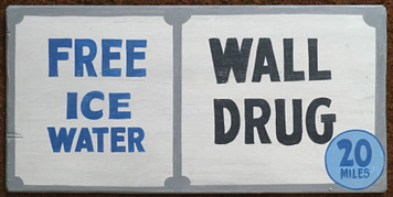 WALL DRUG - FREE ICE WATER - # 2871