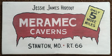 MERAMEC CAVERNS - RT 66 - MISSOURI - # 2873