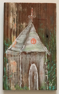 RUSTIC LOUISIANA CHURCH #1 by Paulette Ford