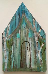 RUSTIC LOUISIANA CHURCH #4 - by Paulette Ford