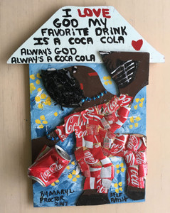 MY FAVORITE DRINK is COCA-COLA by Mary Proctor - 2938-c
