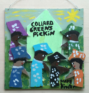 COLLARD GREENS PICKERS - by Mary Proctor - 2943-pc