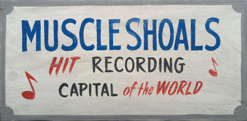 MUSCLE SHOALS ALABAMA - HIT RECORDING CAPITAL