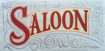 Old Time SALOON  Sign