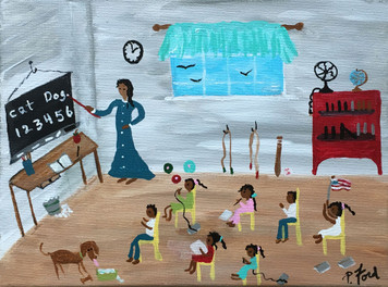 BACK TO SCHOOL by Paulette Ford