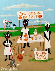 ORANGE SODA SELLERS by Jonne Applseed