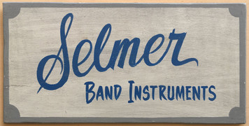 SELMER BAND INSTRUMENTS Sign - Elkhart Indiana