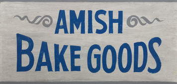 AMISH BAKE GOODS SIGN
