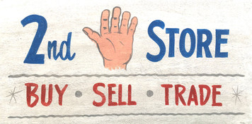 2nd Hand Store - Sign