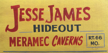 JESSE JAMES HIDEOUT - Meramec Caverns