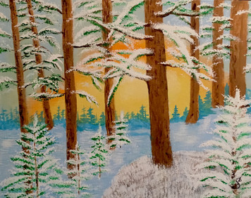 WINTER in the WODS by Sharon Boggs