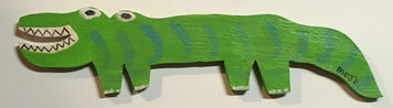 FLORIDA GATOR by Florida Folk Artist - MOJO