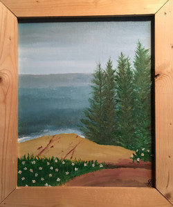 PINE TREES by the SEA by Sharon Boggs