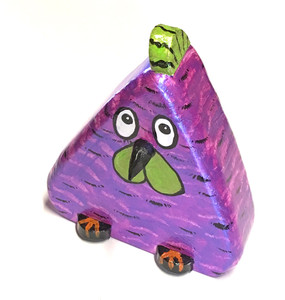 CUTE PURPLE CHICKEN by Jo Ann Butts
