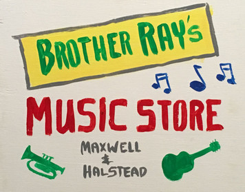 BROTHER RAY'S MUSIC - From Blues Bros Movie by Otto