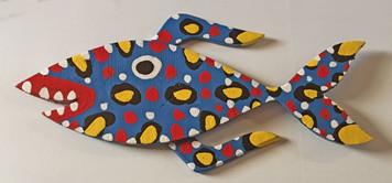 BLUE FIN FISH - CutOut by BEBO - WAS $95 - NOW $75