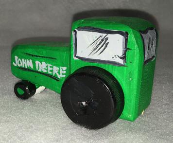 JOHN DEER TRACTOR by Eddie Armstrong