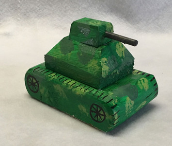 CAMP ARMY TANK by Eddie Armstrong