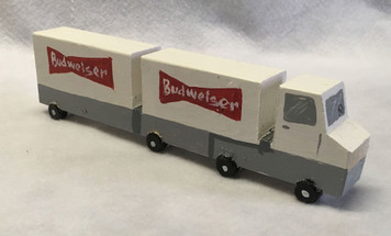 BUDWEISER Double Botton SEMI -  by Eddie Armstrong - Was $40-Now$30