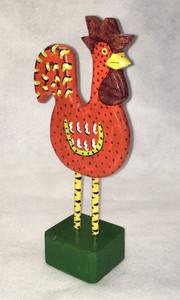 Tall Red Rooster by Jo Ann Butts