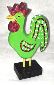 GREEN ROOSTER by Jo Ann Butts