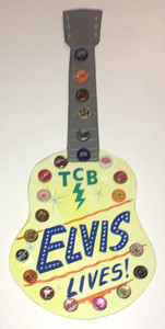 ELVIS LIVES - GUITAR - JANUARY LOW PRICE