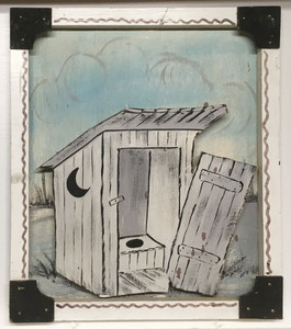 3-D OUTHOUSE by Geo G Borum - WAS $35 - NOW $20
